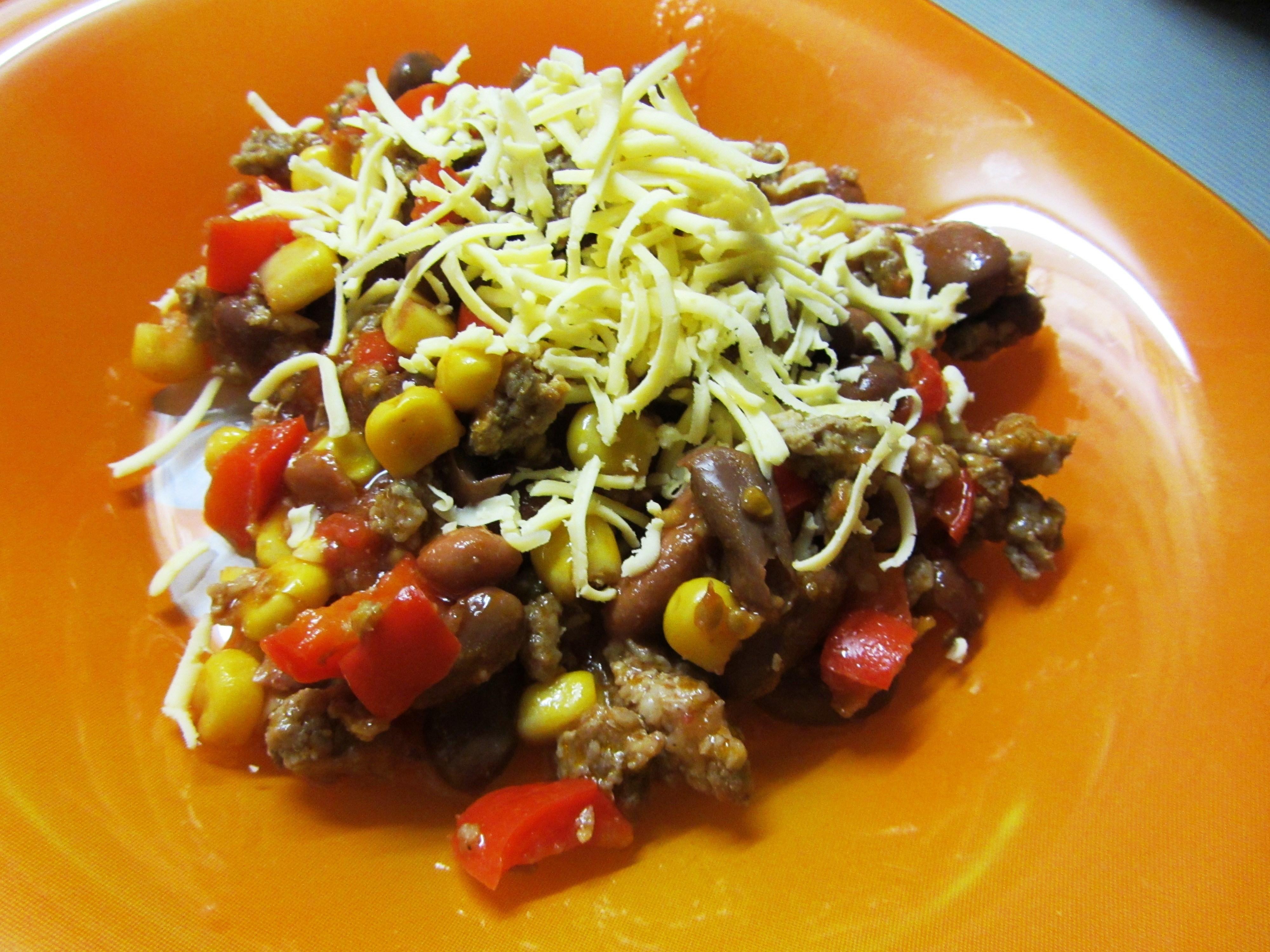 салат мексиканскийиз говядины рецепт с фото