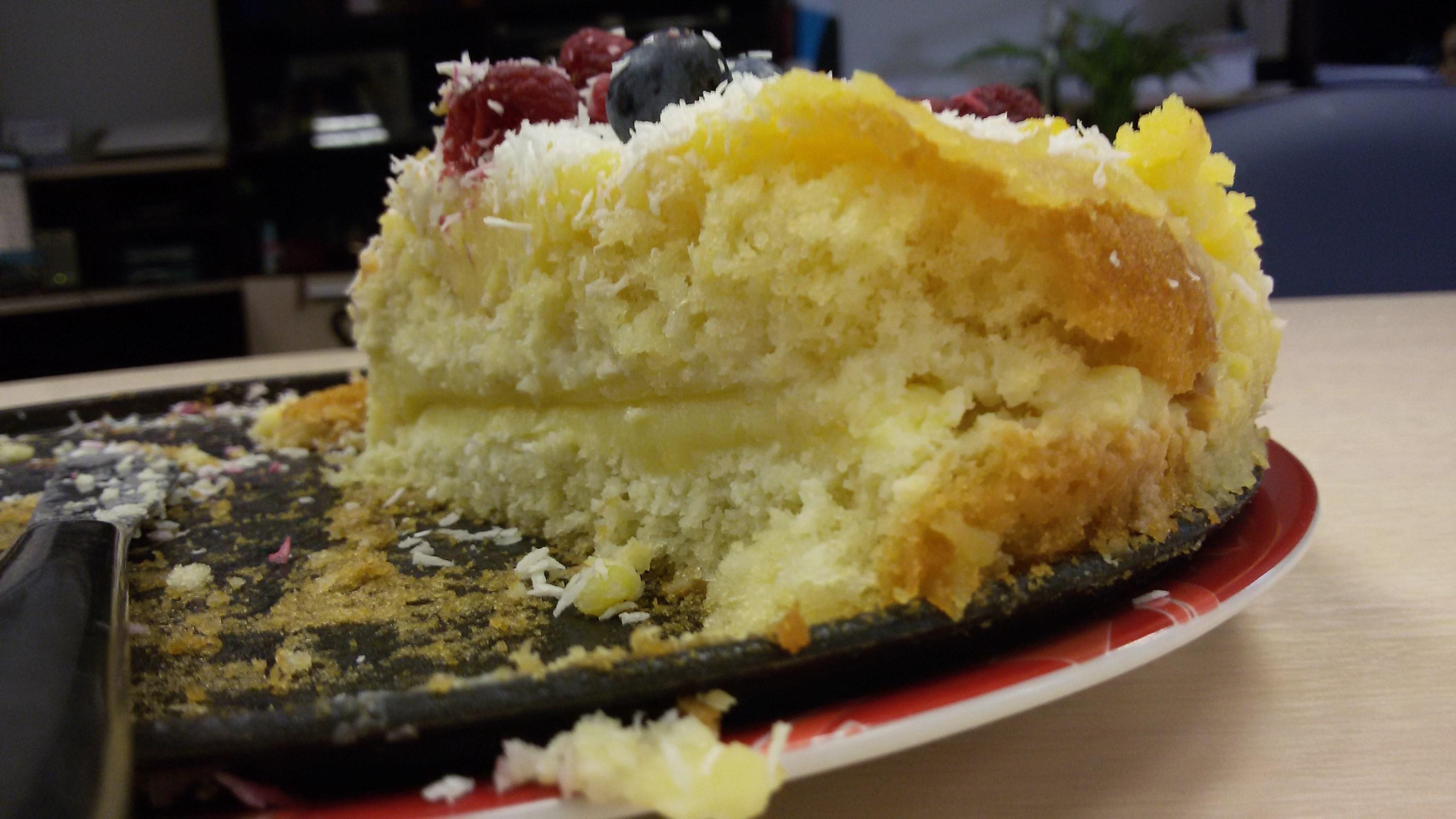 Торт Птичье молоко с манкой и лимоном (пошаговый) 89