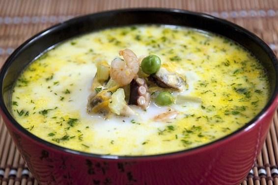 постный суп из морепродуктов рецепт