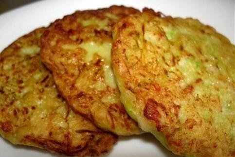рецепт для оладьев из кабачков