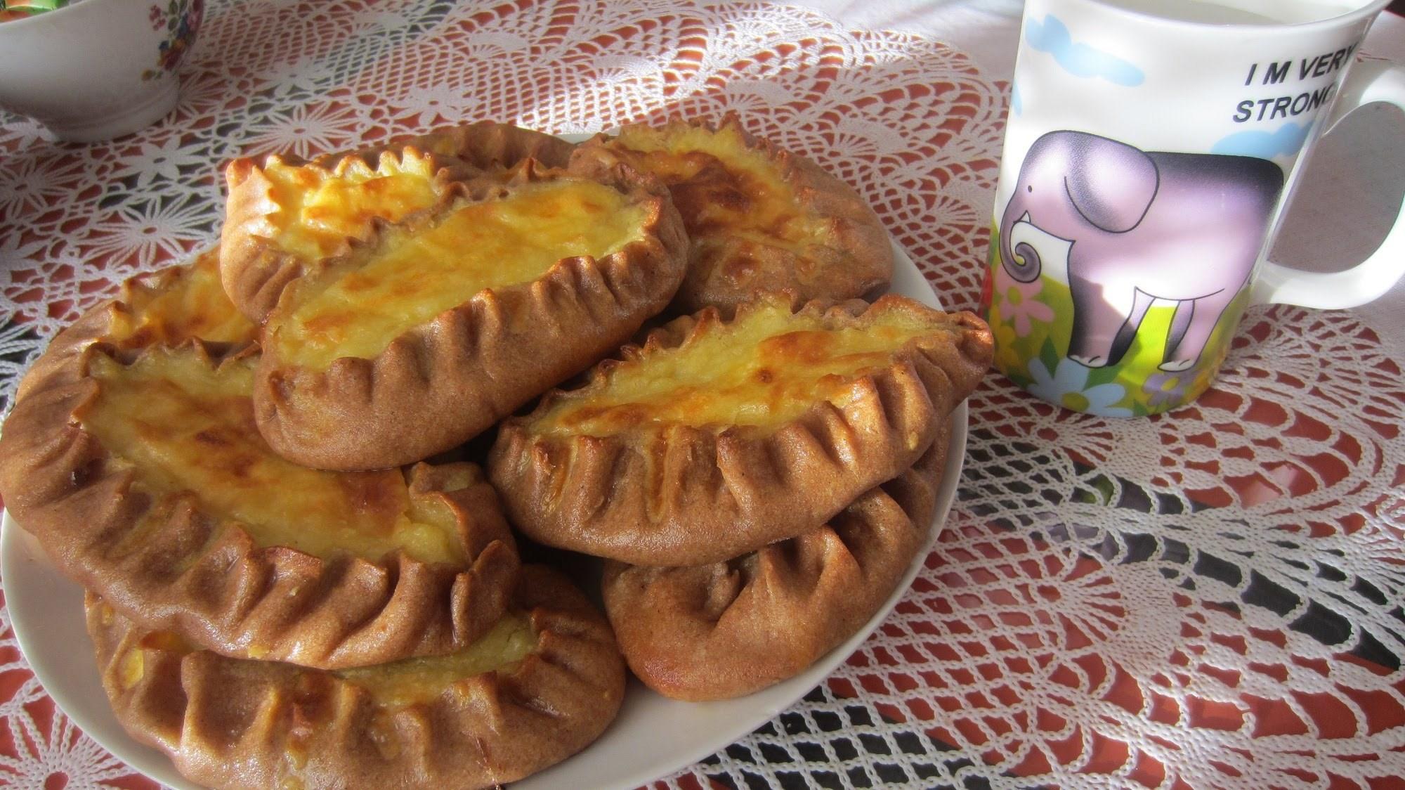 Калитки из ржаной муки с картошкой пошаговый рецепт