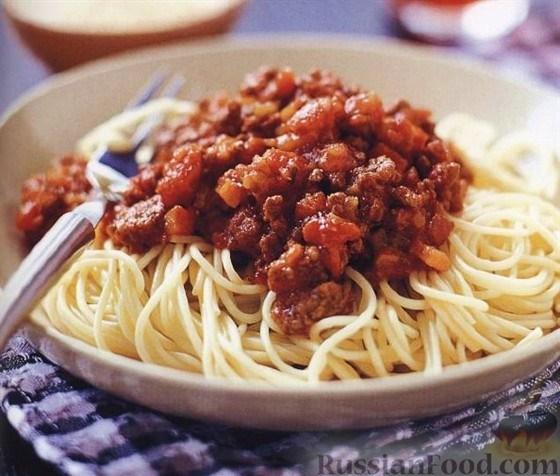 французский кухня соус для спагетти рецепты фото