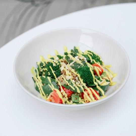 Теплый салат «Титикака»