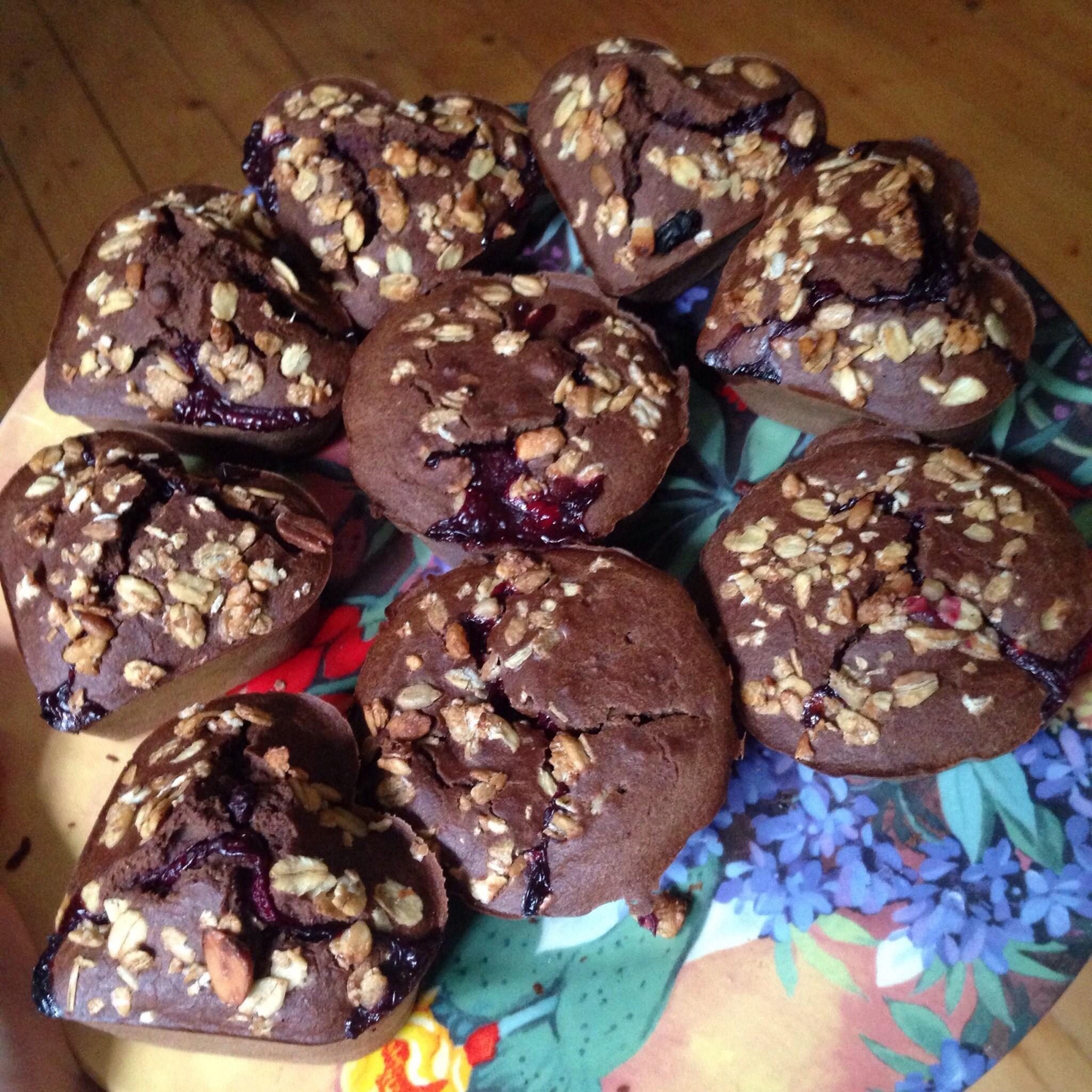 Кексики с шоколадом внутри рецепт пошагово