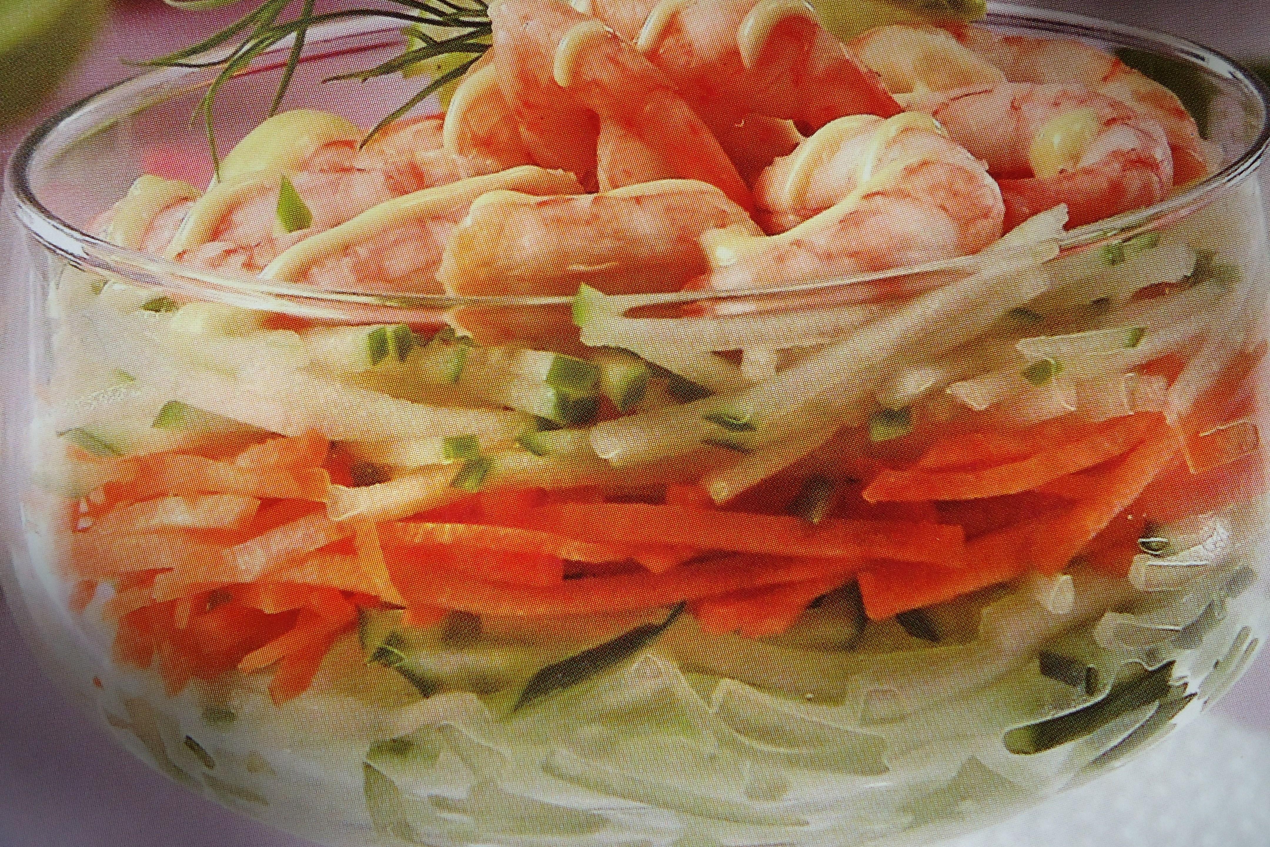 Рецепты салатов коктейлей пошагово
