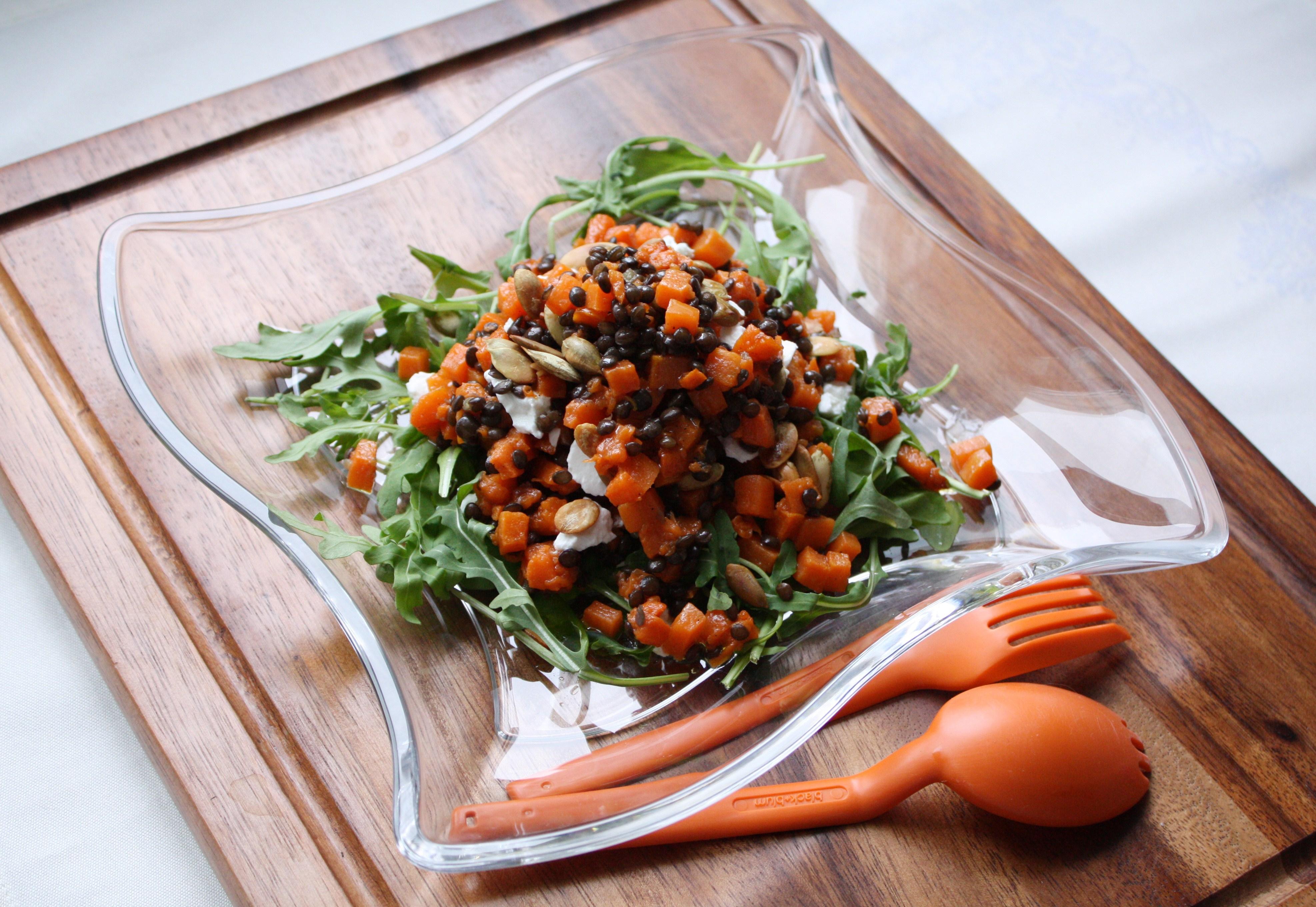 чечевица красная салат рецепты