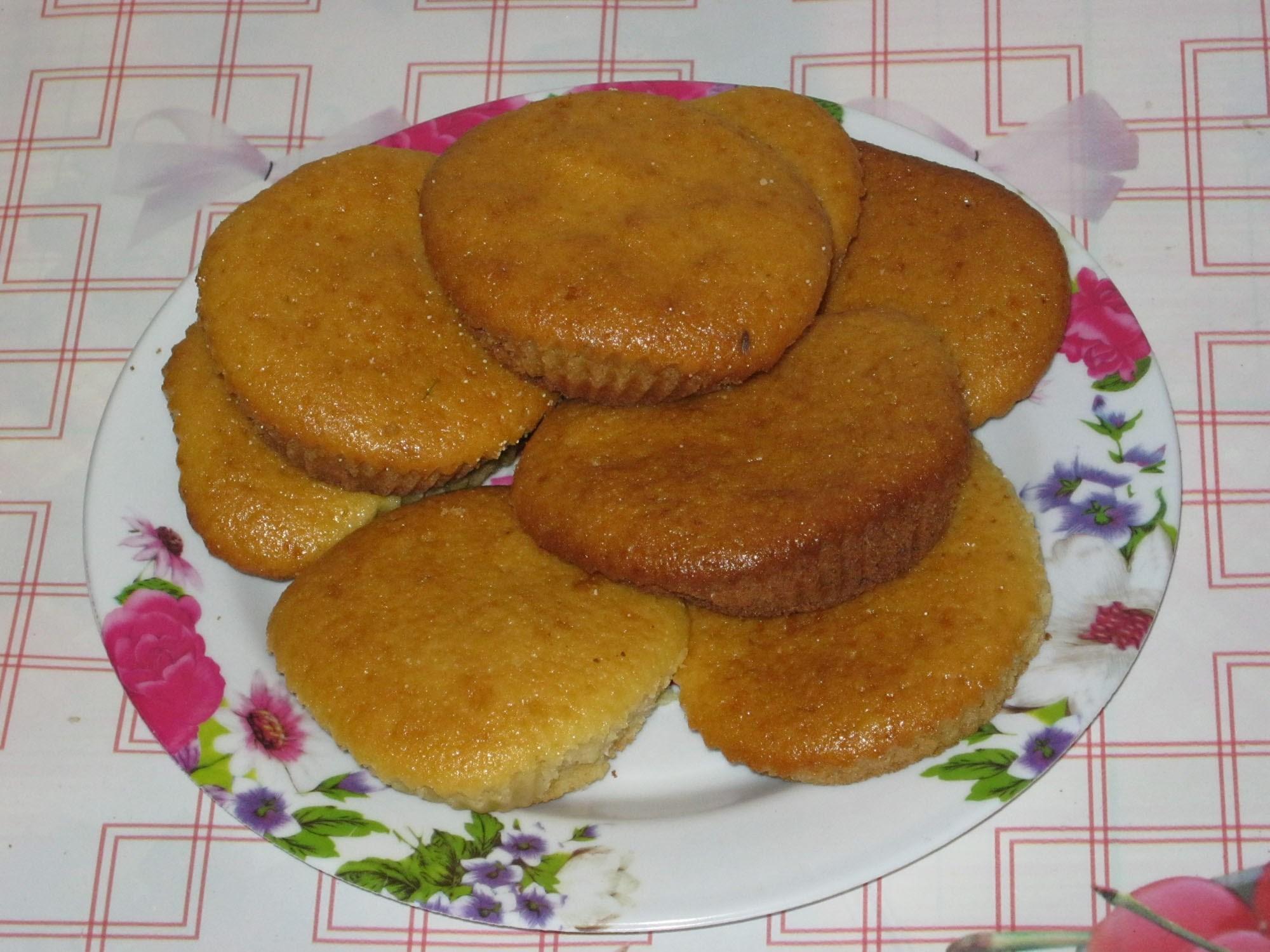 Кексы из манной каши