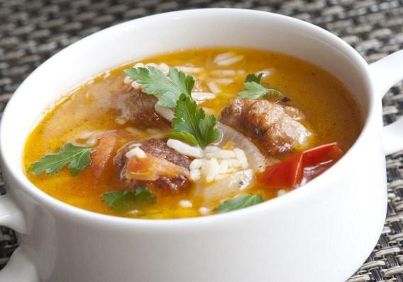 супы с рисом и сыром рецепты