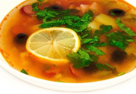 рецепт супа салямка
