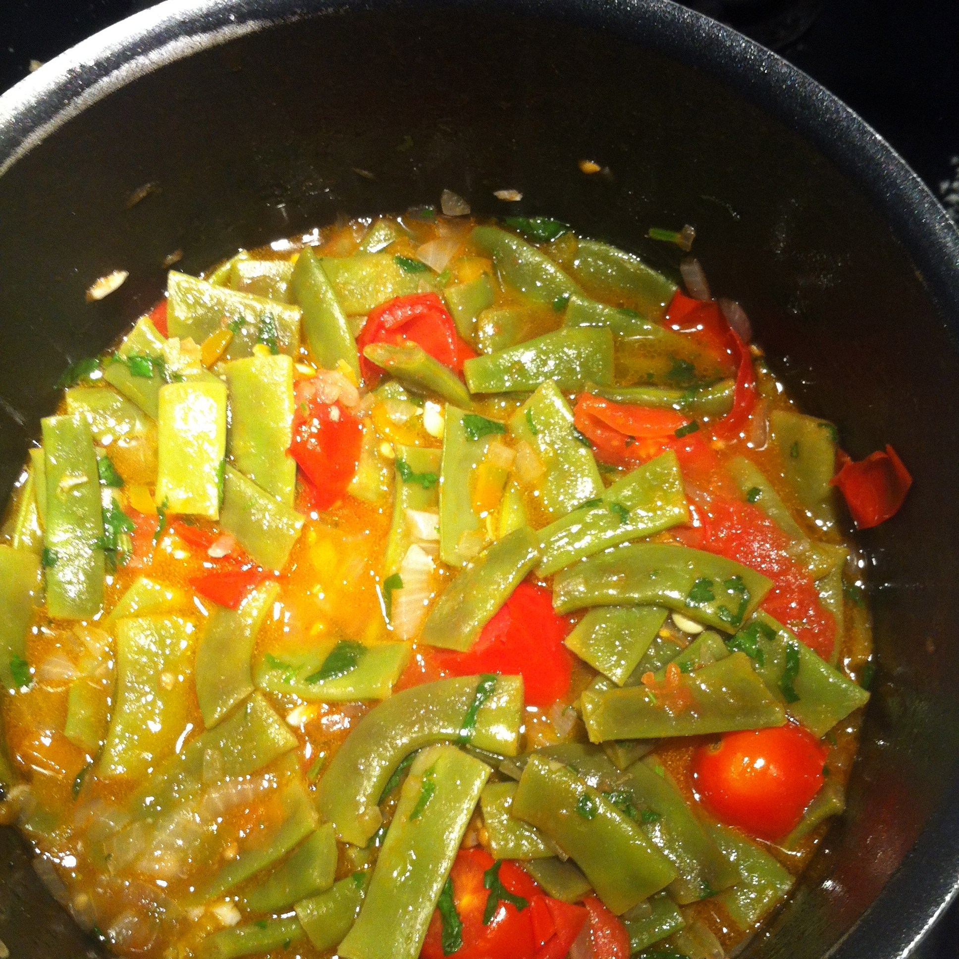 Фасоль с овощами. Как приготовить 6 рецептов с указанием калорийности