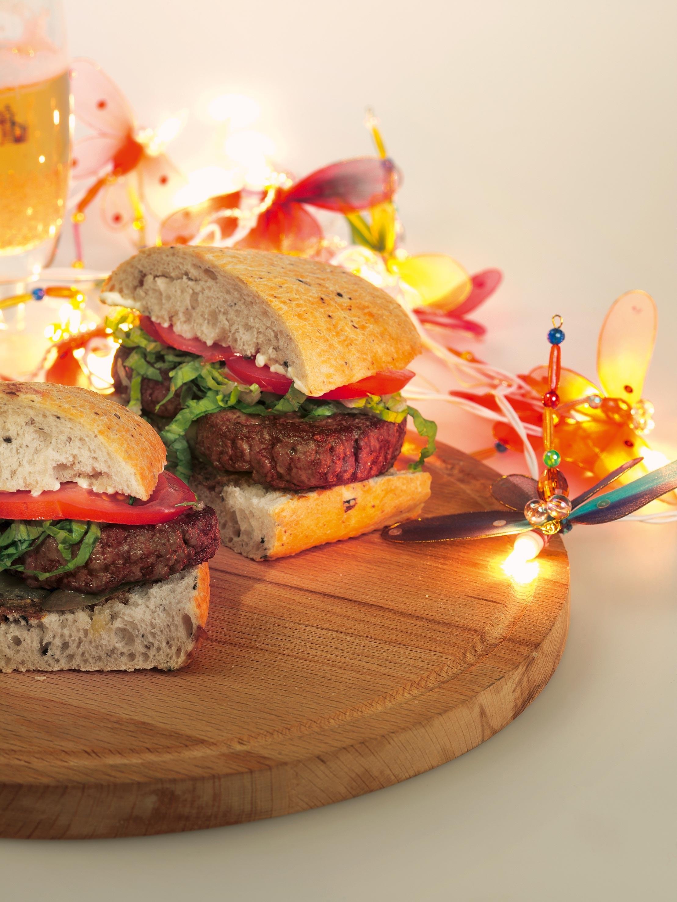 Бургер с говяжьей котлетой рецепт с пошагово