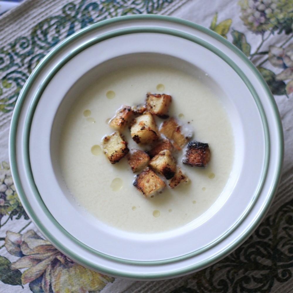 Суп-пюре из цветной капусты картинки