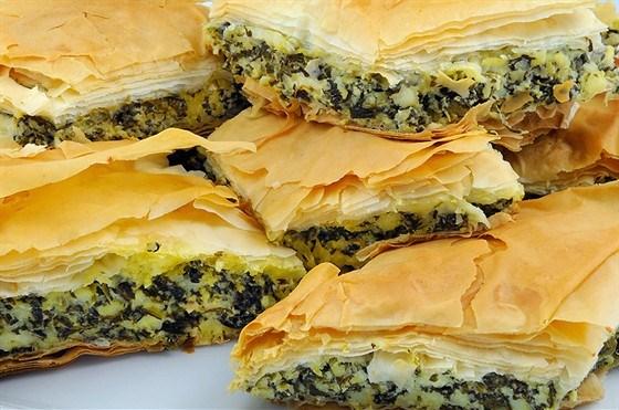 рецепты пирог с фото со шпинатом