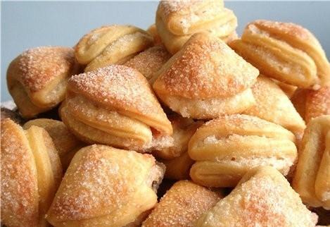 Печенье из маргарина и яиц
