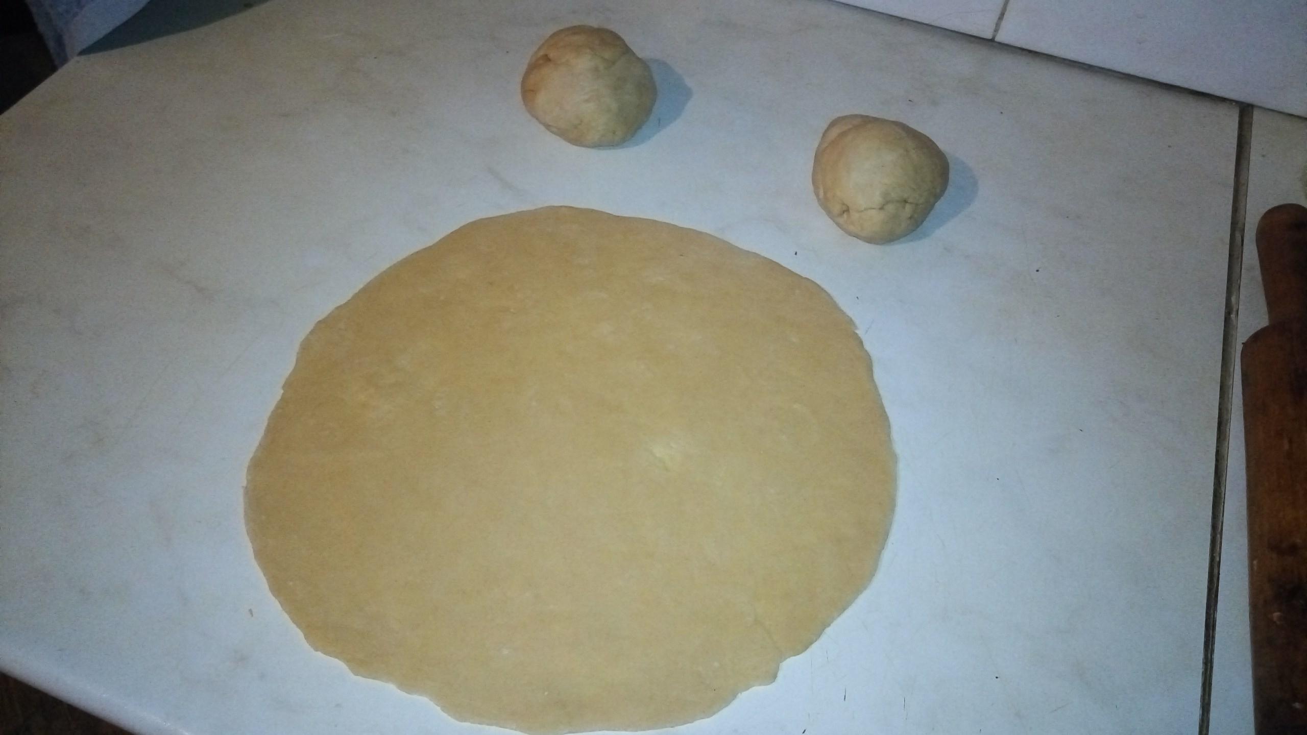 Как сделать пиццу без дрожжей рецепт фото 695