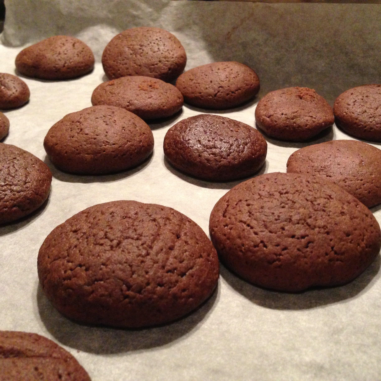 Печенье шоколадное с какао рецепт с фото пошагово