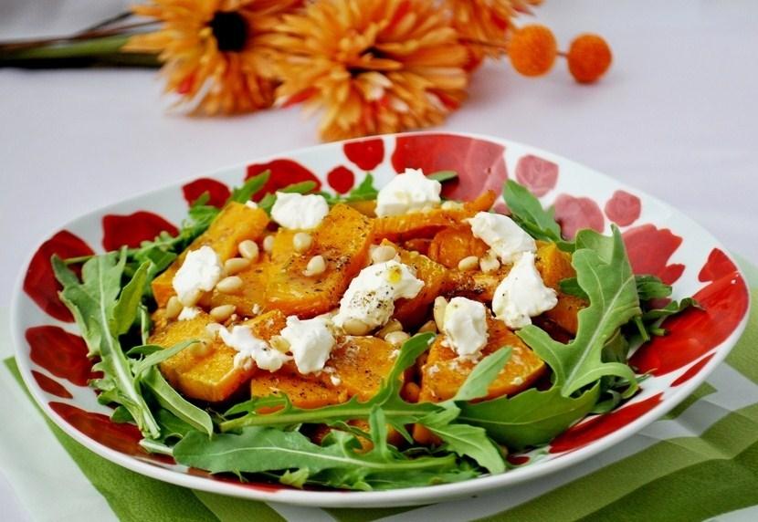 Рецепты салатов с тыквой