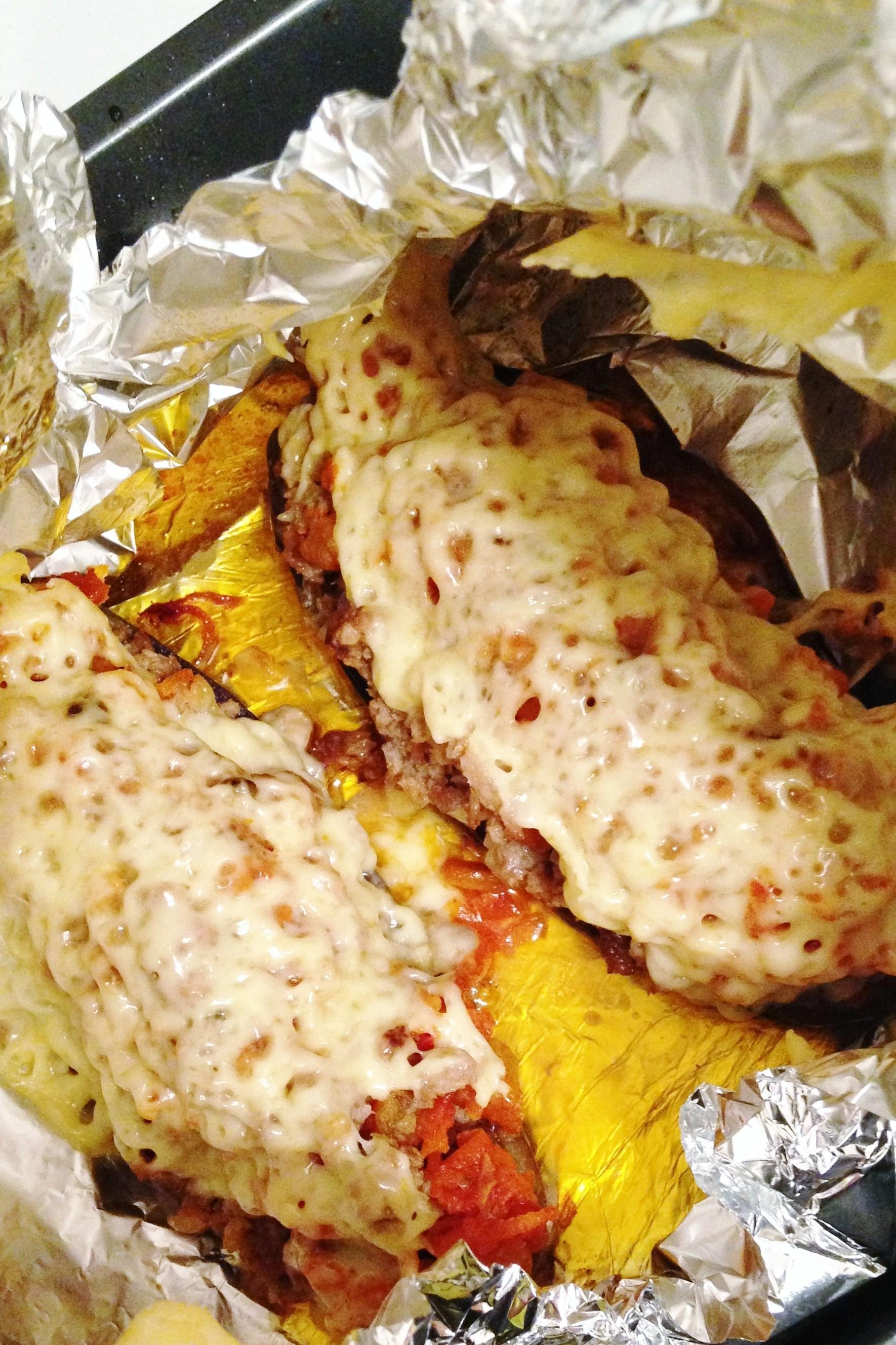 баклажаны с мясом рецепт