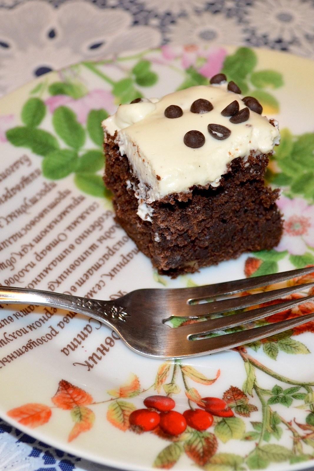 Шоколадный торт с маскарпоне рецепт с пошагово