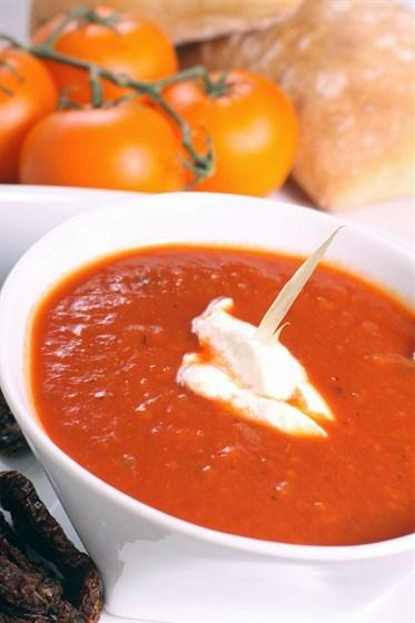 Рецепт супа из свежих помидор