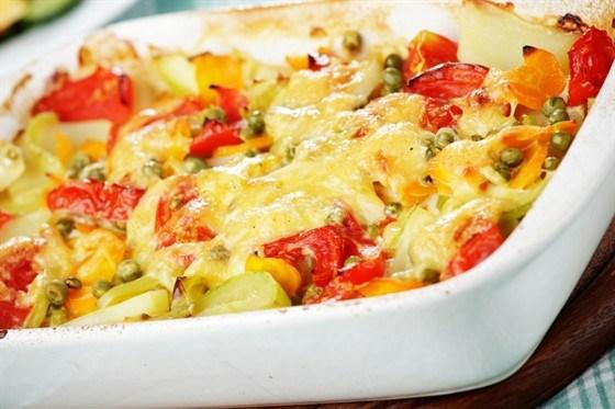 Запеканки с овощами с фото