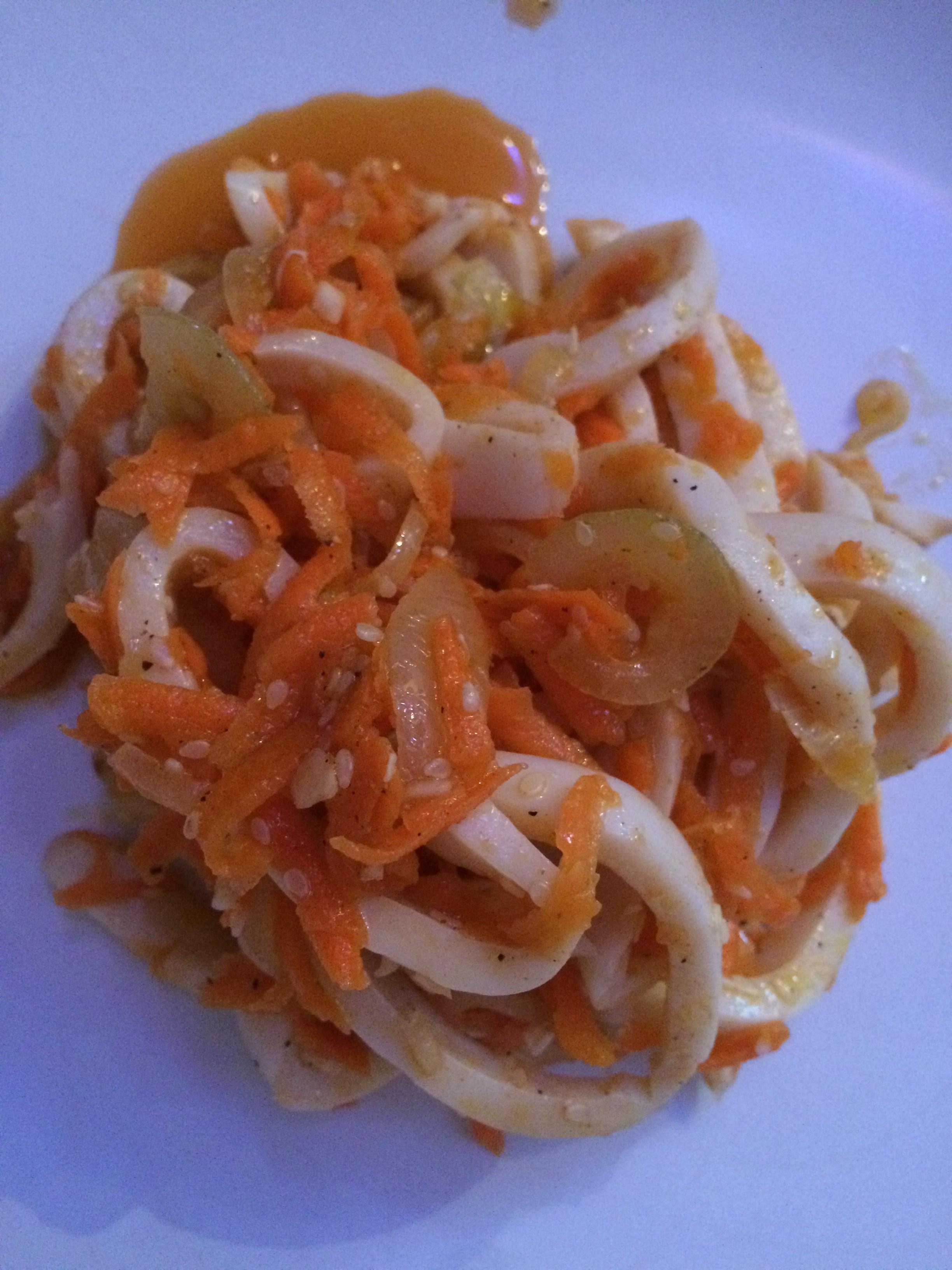 Кальмары по корейски рецепт с фото пошагово