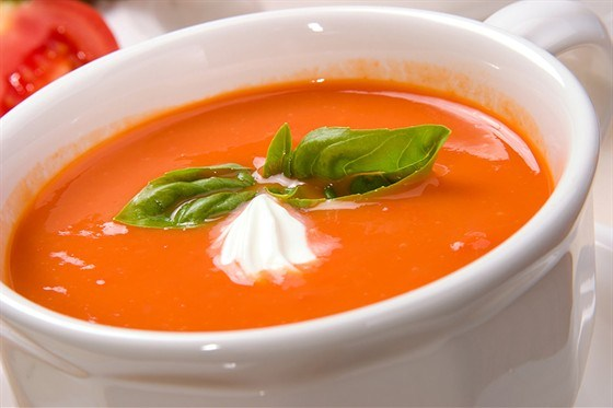 рецепт томатного супа с фото