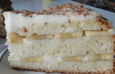 банановый торт со сметанным кремом рецепт