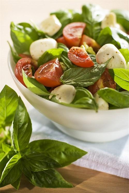 Моцарелла с помидорами рецепт заправки