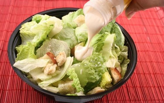 Соус для салат цезарь с