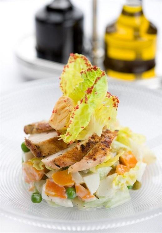Фото рецепты салатов от шеф поваров