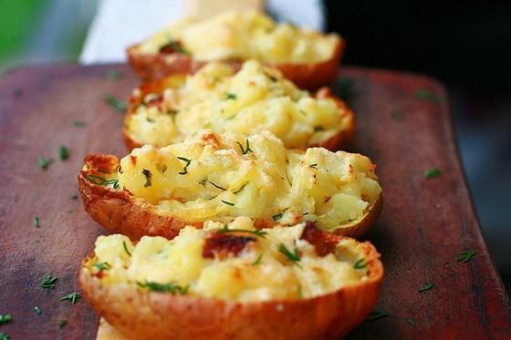Картошка печеная в духовке в кожуре рецепт пошагово 43