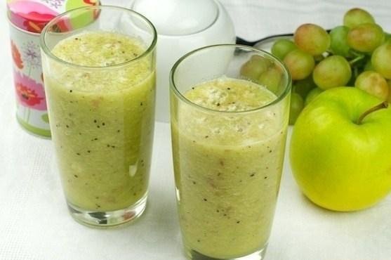 Смузи из яблок и бананов