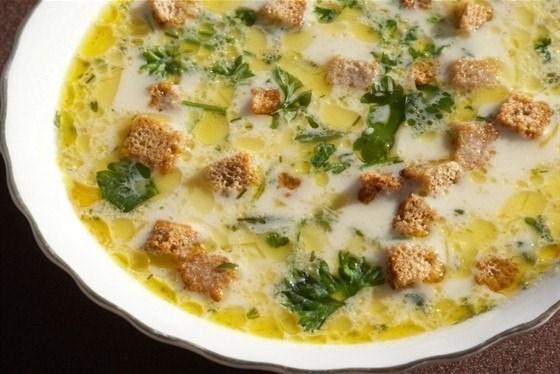 рецепты сырного супа с шампиньонами