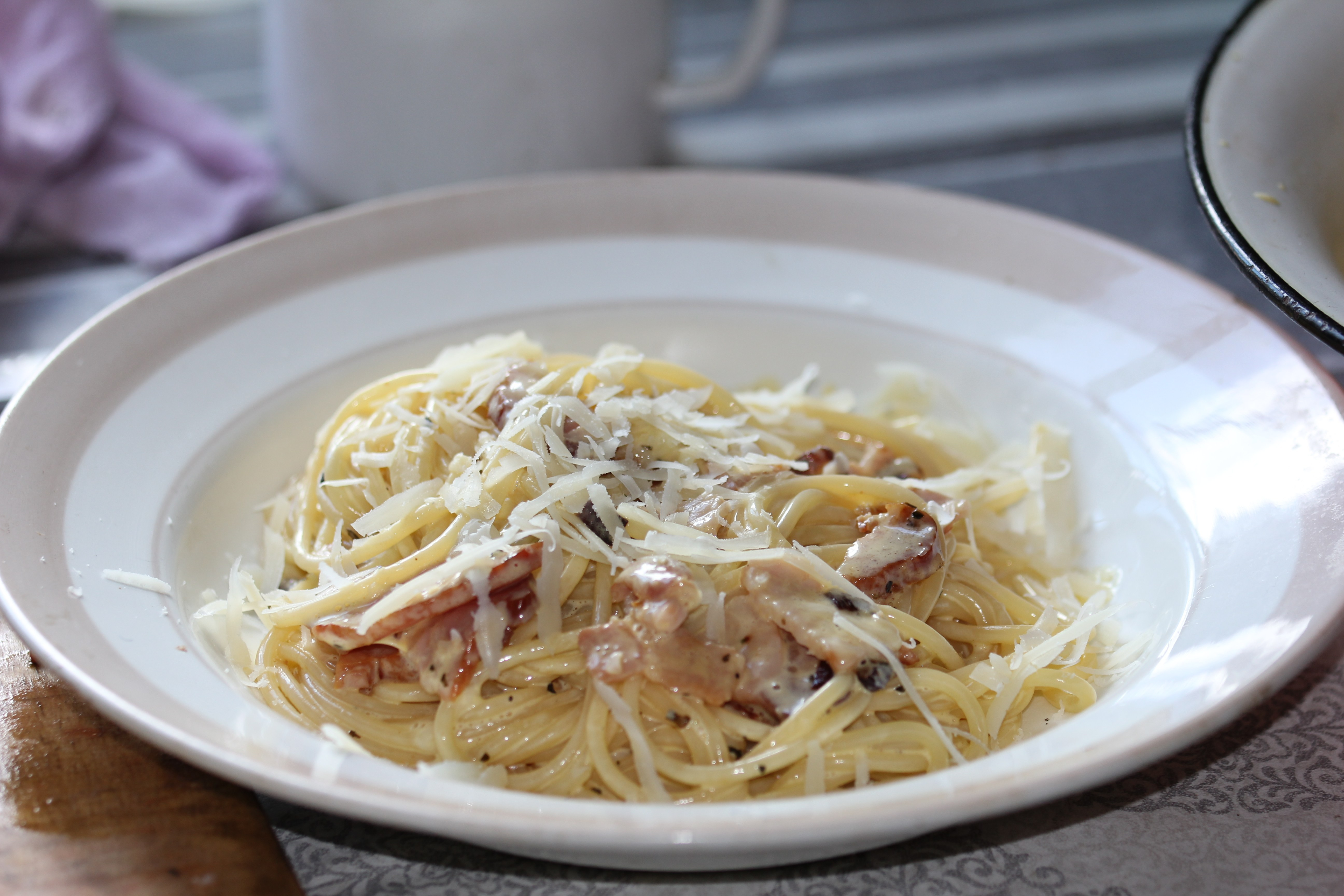 карбонара паста рецепт фото