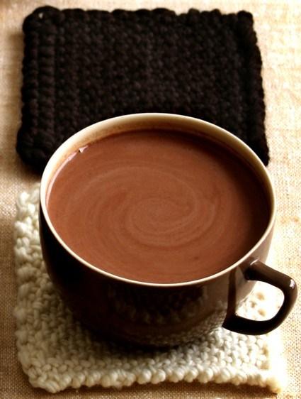 Сливочный горячий шоколад