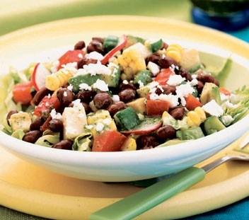 Энергетический салат для борьбы с анемией, холестерином, диабетом и лишним весом!