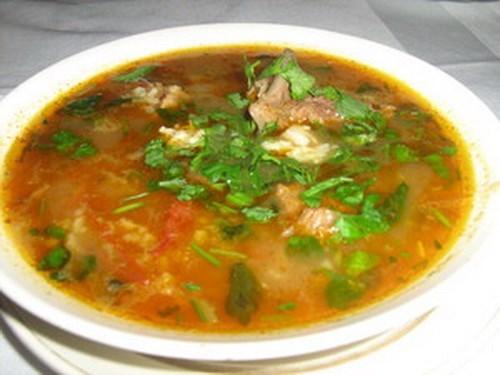 блюда из баранины супы рецепты