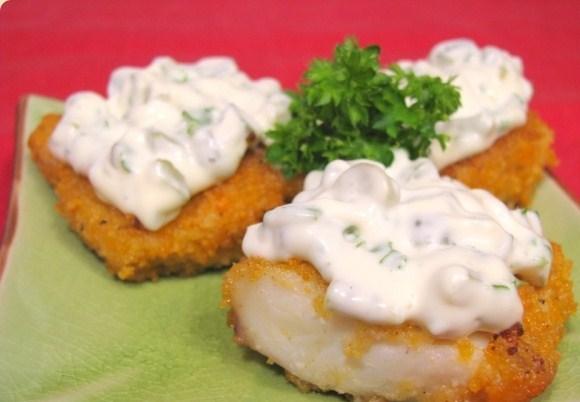 соус к жареной рыбе рецепты с фото