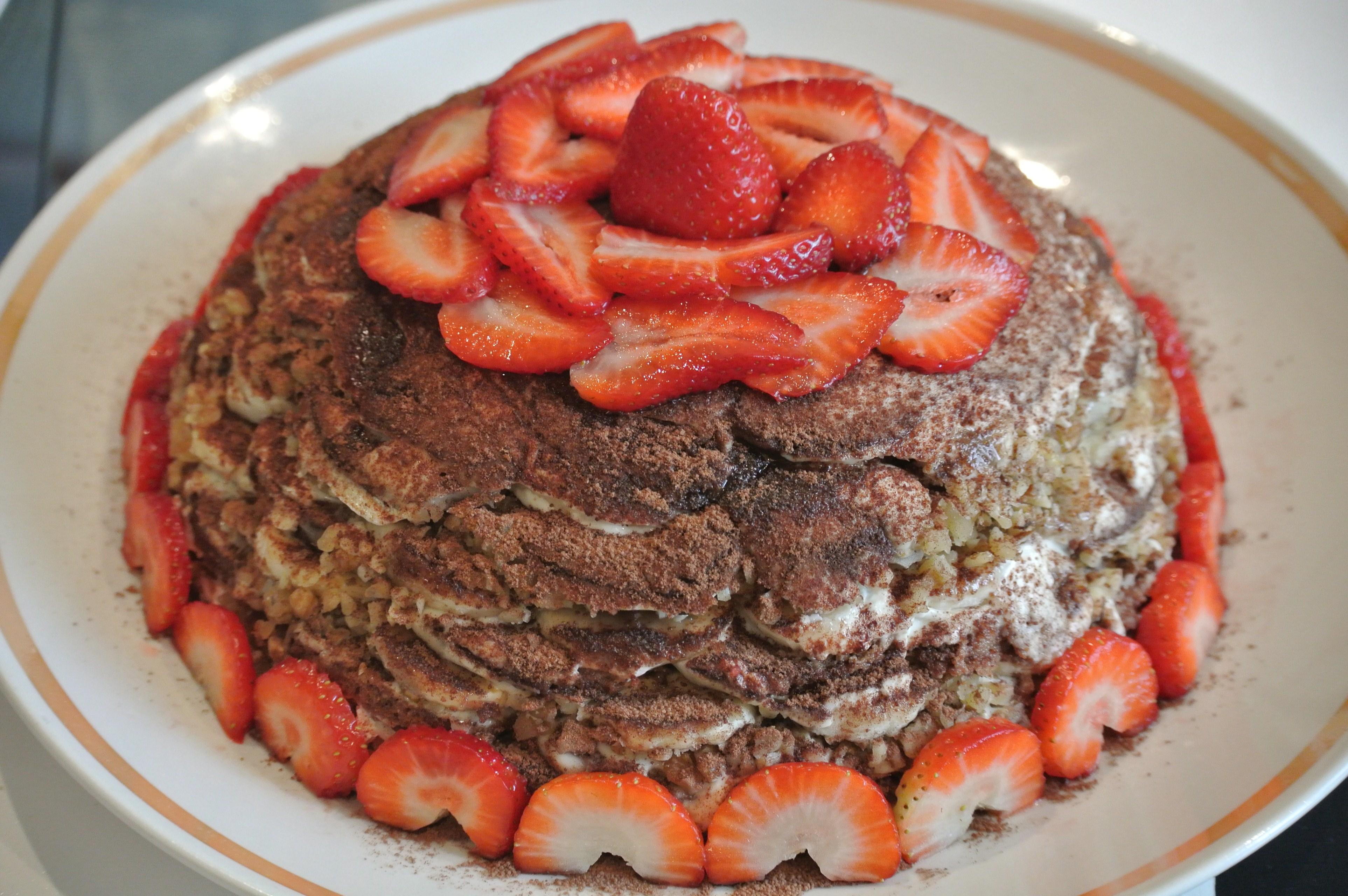 Пряничный торт без выпечки рецепт с фото