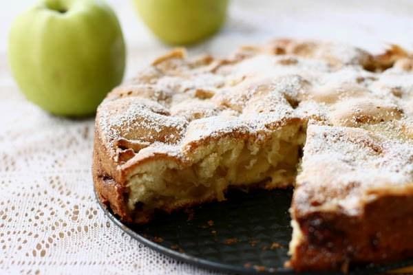 рецепт яблочной шарлотки фото