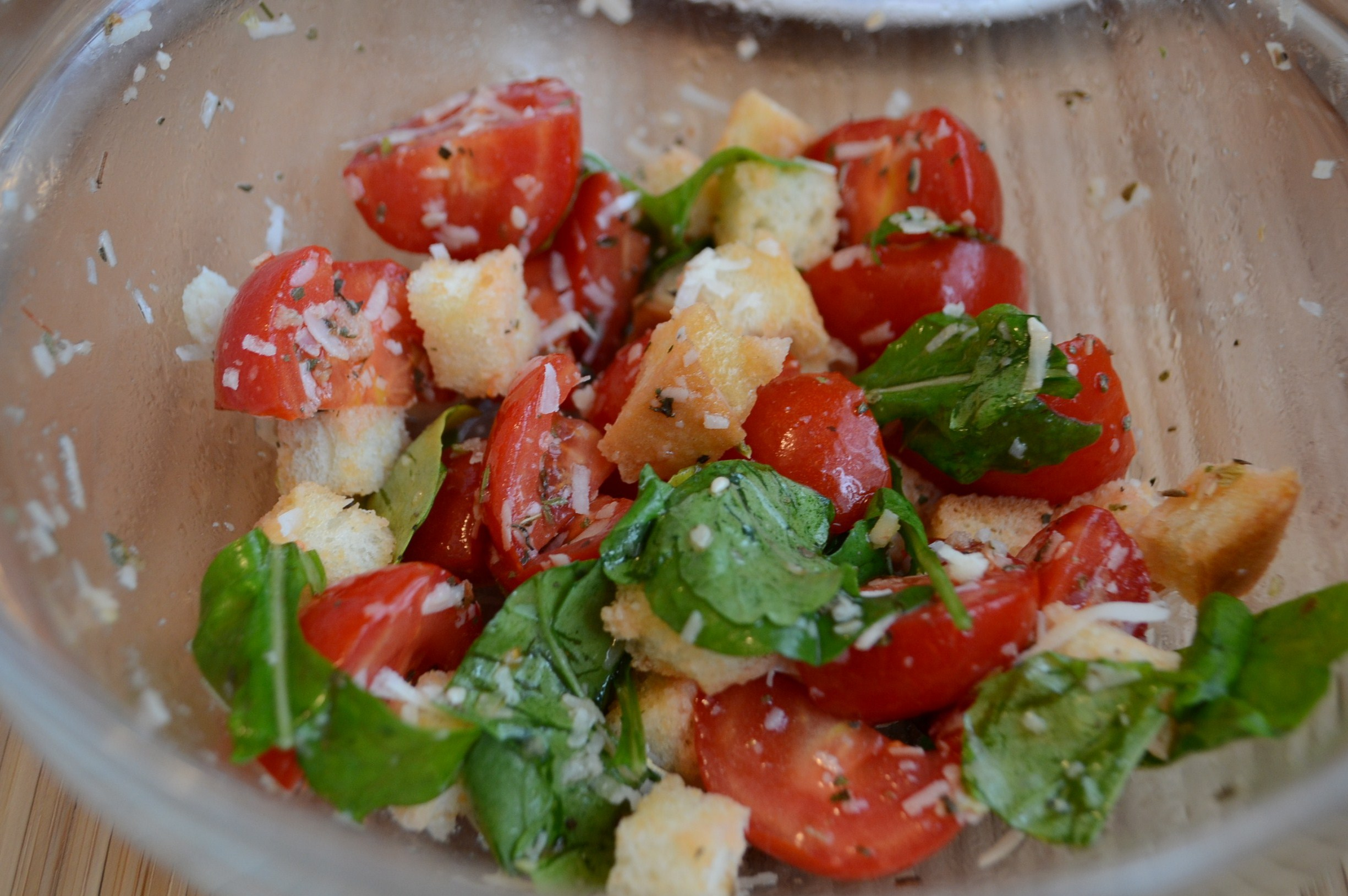 салат из рукколы базилика рецепт