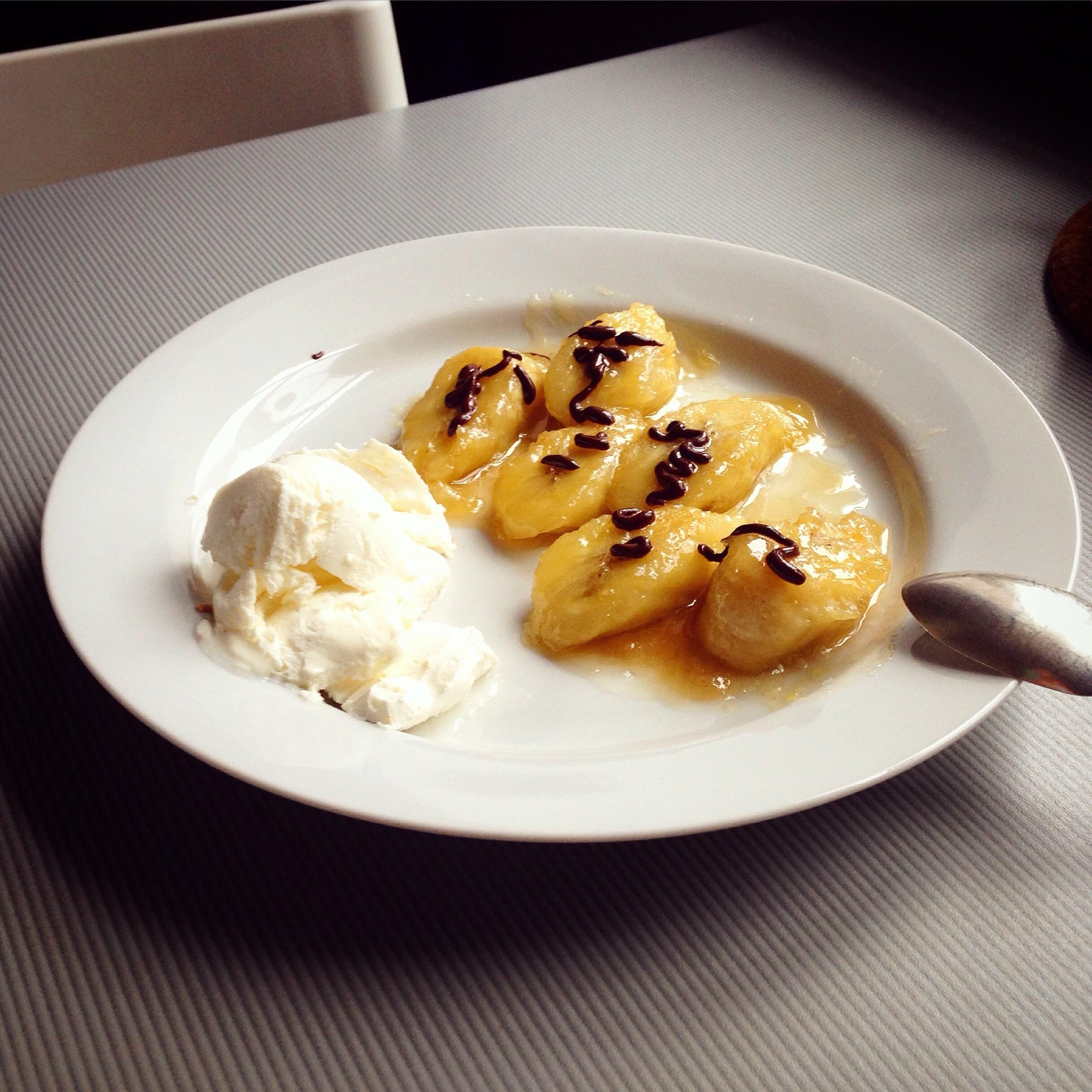 Жареный банан рецепт пошагово