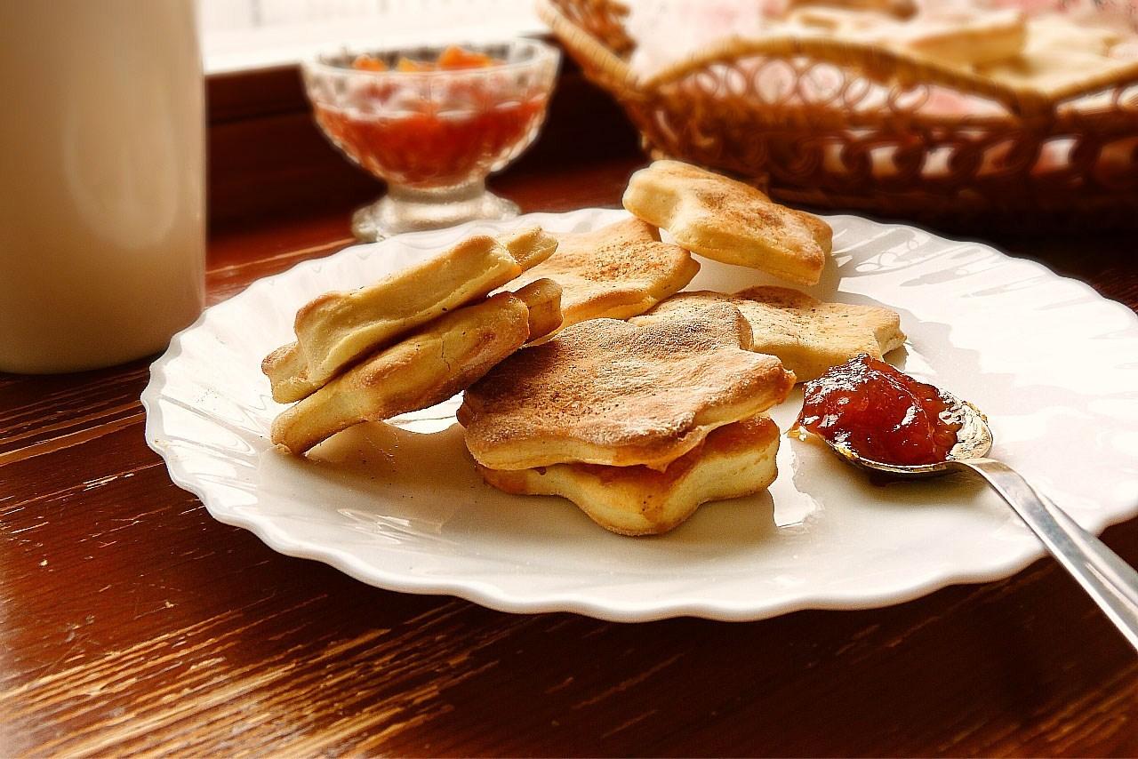 Песочное печенье с кефиром