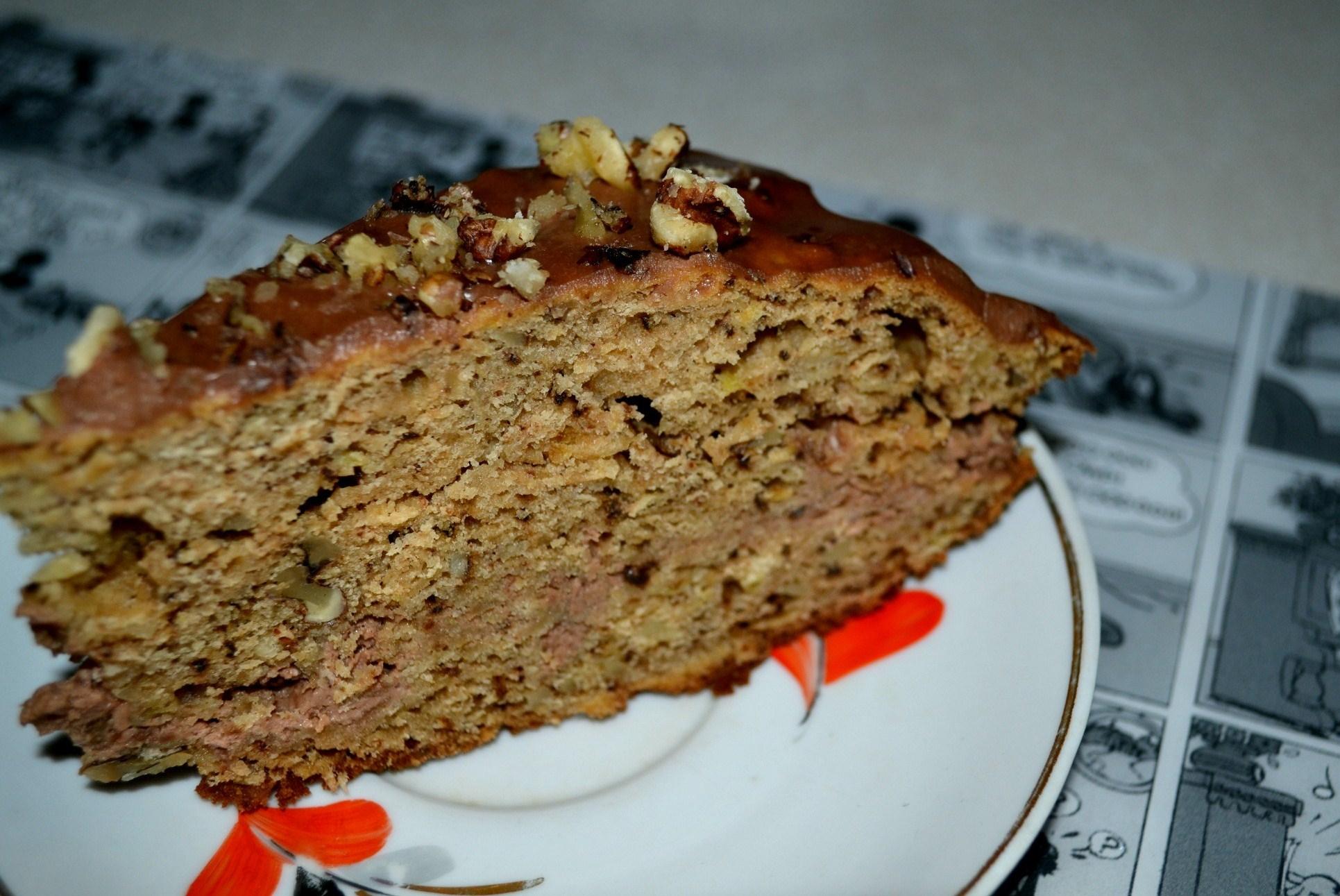 Шоколадный торт со сметанным кремом рецепт пошагово в домашних