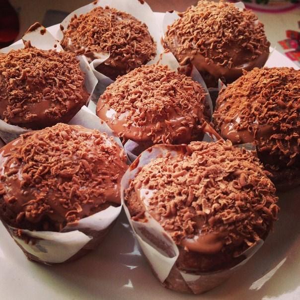 Самые вкусные рецепты шоколадных кексов