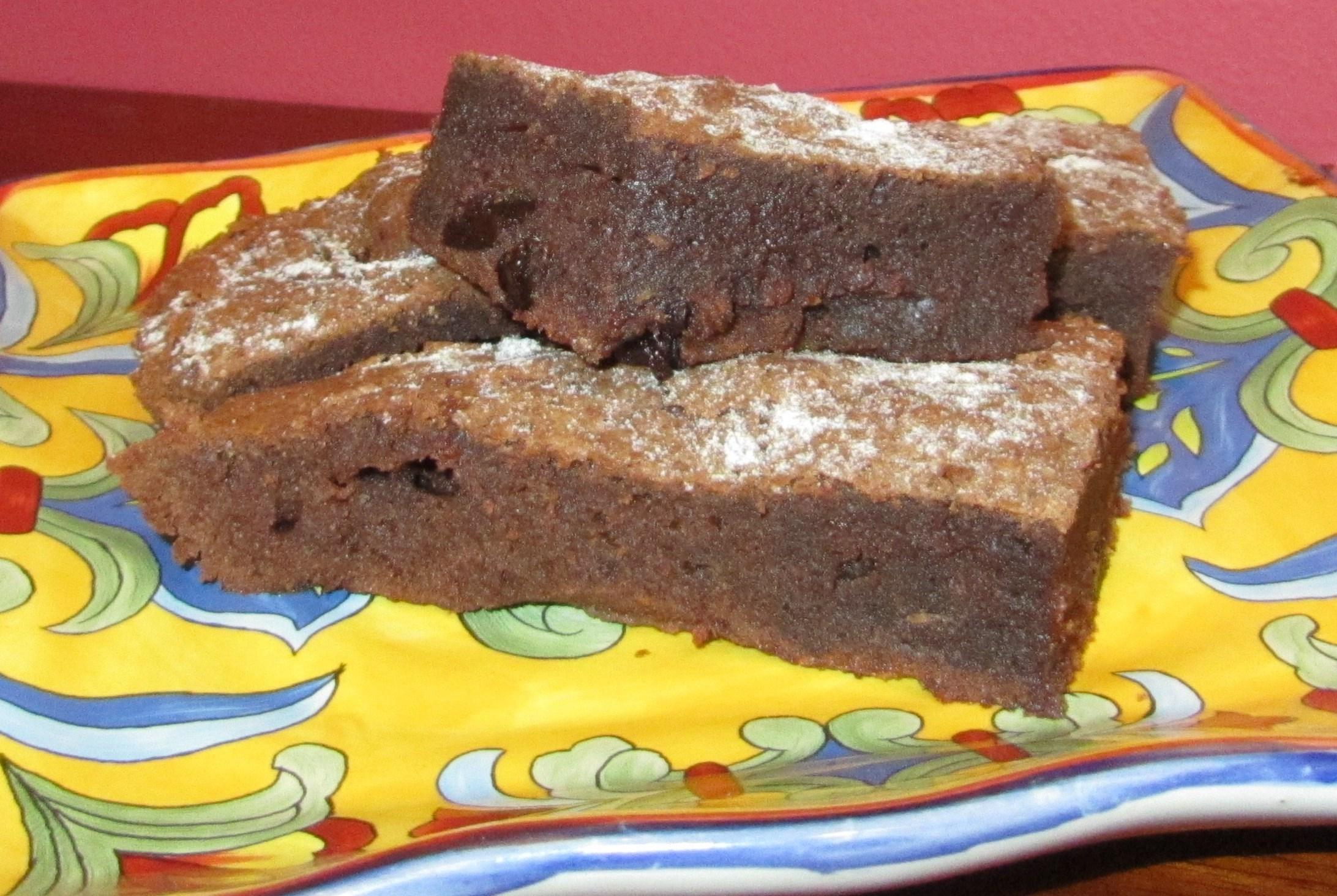 Брауни с черносливом рецепт