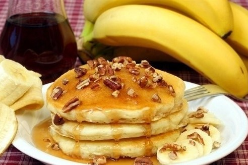 оладьи из бананов рецепт