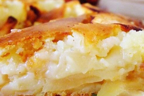 шарлотка с яблоками и бананами рецепт с фото