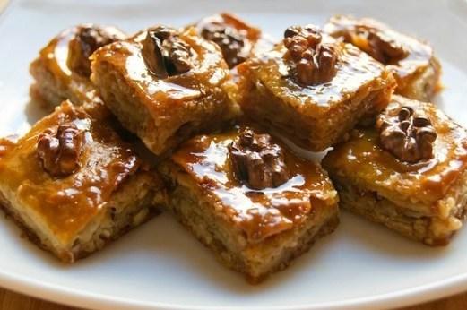 рецепт пирога слоями типа пахлавы